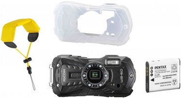 Экшн камера Ricoh WG-60 Black with Battery/Cover/Wrist Band