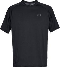 Under Armour Tech 2.0 Short Sleeve Shirt 1326413-001 Black XL