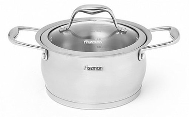 Fissman Miranda Casserole With Glass Lid D16cm 1.9l