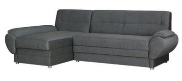 Угловой диван Bodzio Livonia Gray, левый, 248 x 155 x 89 см