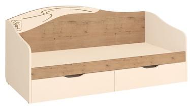 Lastevoodi DaVita Fristail 56.11 Oak/Cream, 204x94 cm