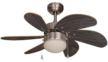 Светильник с вентилятором T30-BC-R6W1CLIP, E14, 1x60Вт