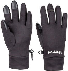 Marmot Womens Gloves Power Stretch Connect Black S