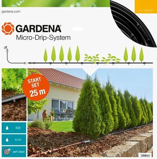 Gardena Micro-Drip-System Start Set Rows of Plants M