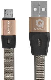 Qult Titan Premium USB To Micro USB Cable 1.2m Grey