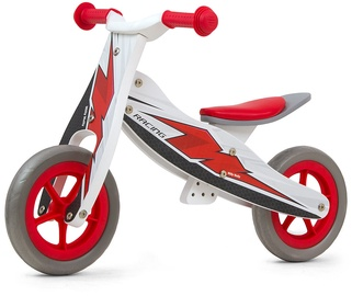 Tasakaaluratas Milly Mally Look Ride On 2in1 Red