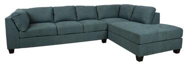 Угловой диван Home4you Helmy Green, правый, 210 x 309 x 82 см