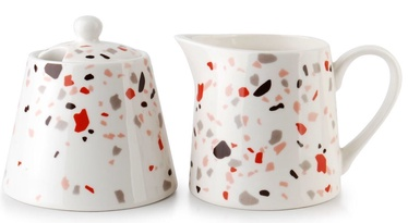 Mondex Terrazzo Sugar Bowl And Creamer 200ml