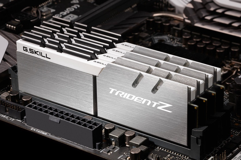 G.SKILL Trident Z Silver/White Series 16GB 3600MHz CL16 DDR4 KIT OF 2 F4-3600C16D-16GTZSW