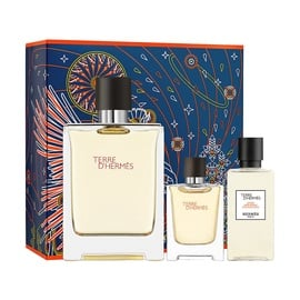 Набор для мужчин Hermes Terre D Hermes 100 ml EDT + 12.5 ml EDT + 40 ml After Shave Lotion New Design