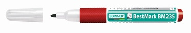 Stanger BestMark BM235 Whiteboard Marker Softgrip 10pcs Red 714002