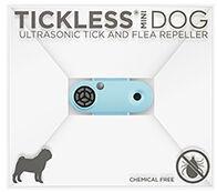 Tickless Mini Dog Ultrasonic Tick & Flea Repeller Blue