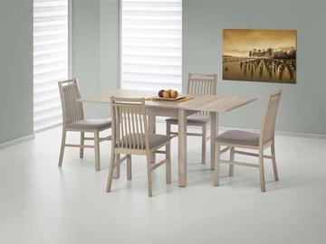 Обеденный стол Halmar Gracjan, дубовый, 800 - 1600x800x760мм