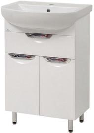 Sanservis Laura-55-2 Cabinet 510x845x280mm White