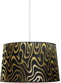 Candellux Tiger 60W E27 Hanging Ceiling Lamp 40cm Black /Gold