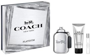Набор мужской парфюмерии Coach Platinum 100 ml EDP + 100 ml Shower Gel + 7.5 ml EDP