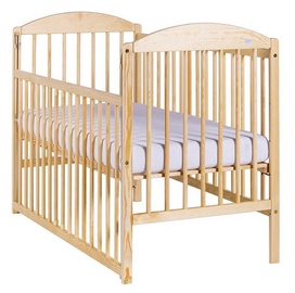 Drewex Kuba II Bed With Drop Side Pine