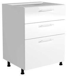 Нижний кухонный шкаф Halmar Vento D3S-80/82 White