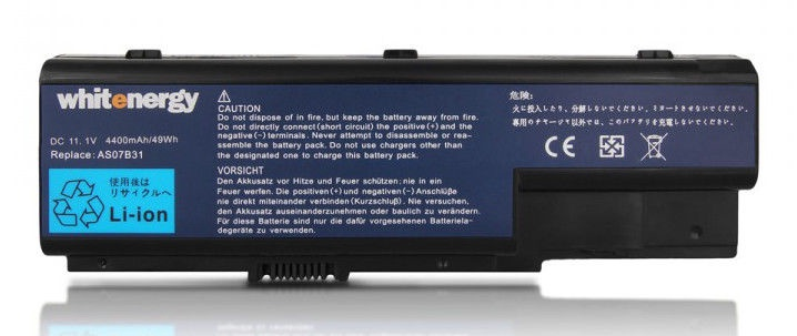 Whitenergy Battery 05906 Acer Aspire 5920 4400mAh