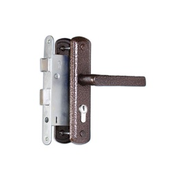 Volmet Mortise Lock ZV4-B-1-19-162 Antique Copper