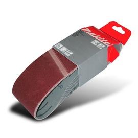 Шлифовальная лента Makita P-37203, K100, 533x76 мм, 5 шт.