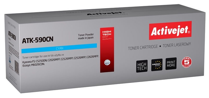 ActiveJet Toner Supreme ATK-590CN Cyan