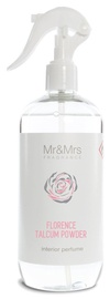 Mr & Mrs Fragrance Blanc Florence Talcum Powder Spray 500ml