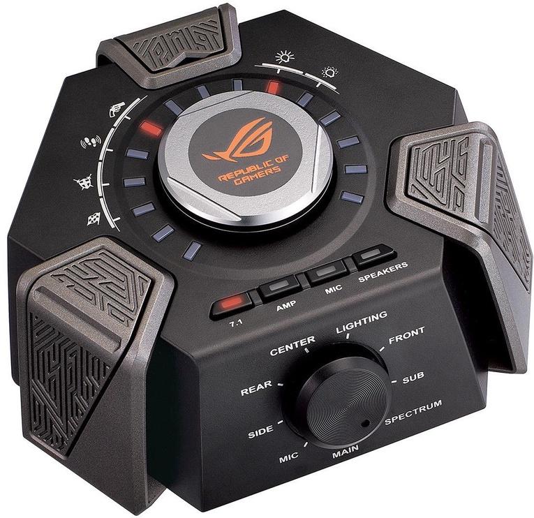 Mänguri kõrvaklapid Asus ROG Centurion Black