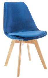 Söögitoa tool Signal Meble Dior Velvet Buk Blue, 1 tk
