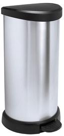 Prügikast Curver Deco Silver, 40 l
