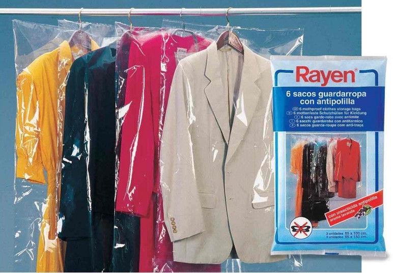 Rayen Anti-moth Clothing Bags 6PCS