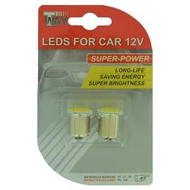 AutoDuals SMD-LED COB Light Bulb White 2pcs