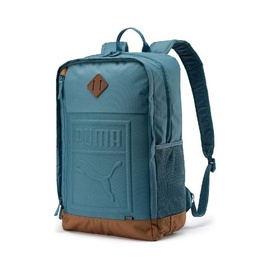 Puma S Backpack 075581 10 Blue