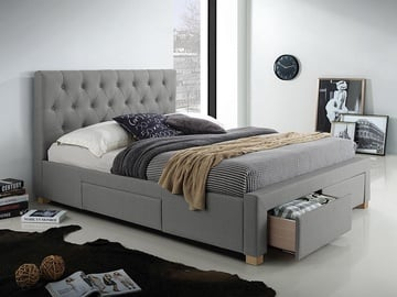 Signal Meble Oslo Bed 160x200 Grey
