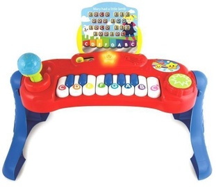 Smily Play Piano With Musical Notes 2016