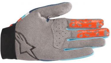 Alpinestars Racer Glove Orange/Blue L
