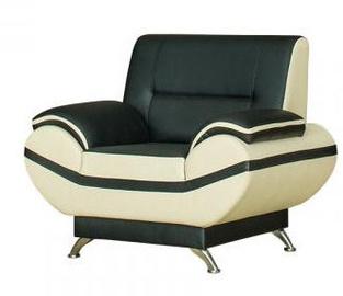 Bodzio Livonia Armchair Eco Leather Black/Pearl