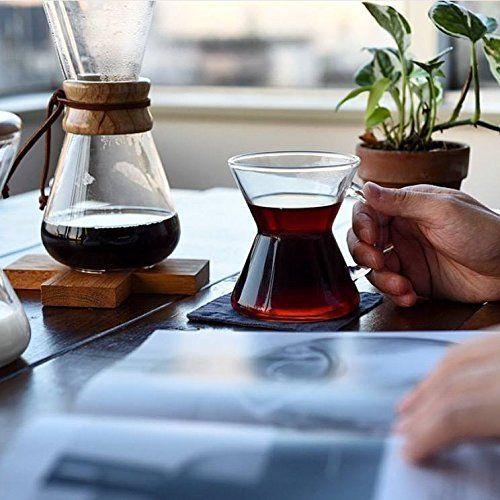 Chemex Wood Neck Coffee Maker 0.9l