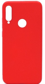 Evelatus Soft Silicone Back Case For Huawei P30 Lite Red
