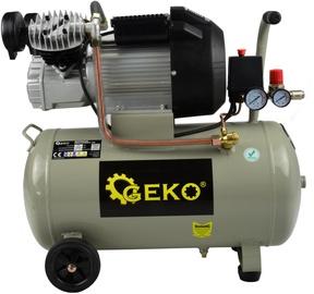 Geko G80305 Oil Compressor V-Twin 50l 8bar 410l/min