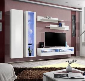 ASM Fly O14 Living Room Wall Unit Set White