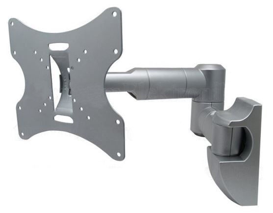 Maclean Wall Mount For TV 23-42'' Silver