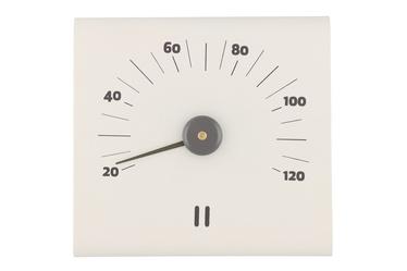 Rento Aluminum Sauna Thermometer White