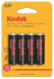 Kodak R06-4BB AA Batteries 4x