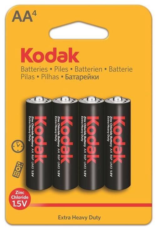 Kodak R06-4BB AA Batteries 4x