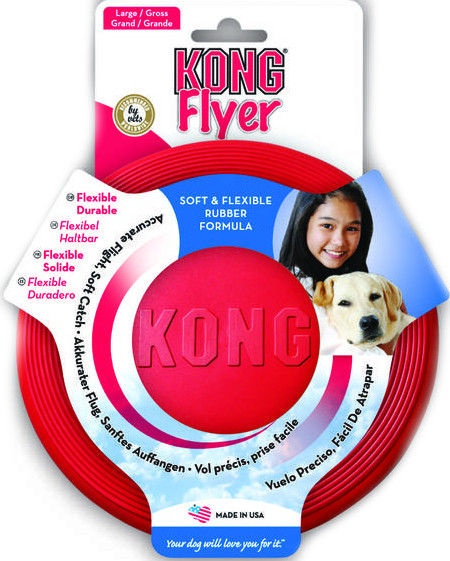 Kong Flyer Small Red