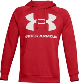 Under Armour Rival Fleece Big Logo Hoodie 1357093-608 Red M