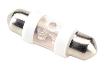 Bottari Torpedo 3 White LED Festoon 2pcs 17825