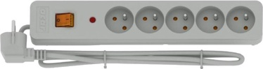 Acar Surge Protector X5 5 Outlet White 3m