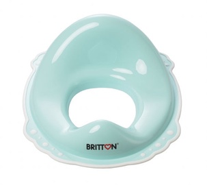 Britton Toilet Trainer Seat With Non Slip Feet Mint/White